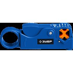 COAX-3 стриппер коаксиальных кабелей, RG58/RG59/RG6, ЗУБР Профессионал / 22657